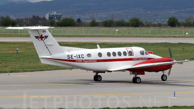 SE-IXC - Beechcraft B200 Super King Air - SOS Flygambulans