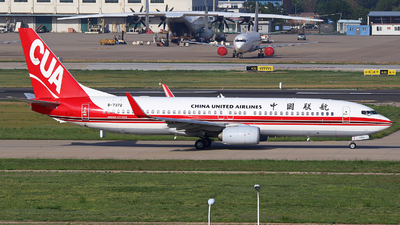 B-7372 - Boeing 737-89P - China United Airlines