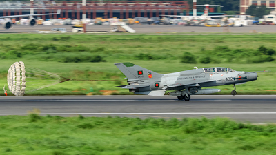 2432 - Chengdu FT-7B - Bangladesh - Air Force