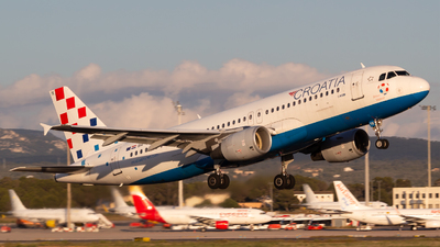A picture of 9ACTK - Airbus A320214 - Croatia Airlines - © Ismael Lopez - PMI Plane Spotting