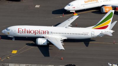 ET-AWF - Boeing 737-8 MAX - Ethiopian Airlines