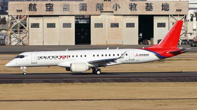 JA26MJ - Mitsubishi MRJ90STD - Mitsubishi Aircraft Corporation