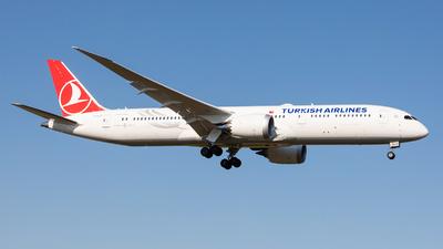 TC-LLP - Boeing 787-9 Dreamliner - Turkish Airlines