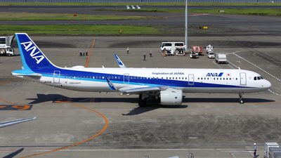 A picture of JA150A - Airbus A321272N - All Nippon Airways - © kouyagi