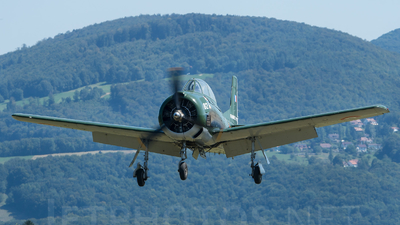 F-AZKG - North American T-28A Fennec - Private