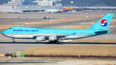 HL7601 - Boeing 747-4B5ERF - Korean Air Cargo