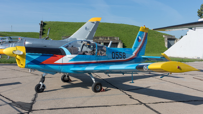 0558 - Zlin 142 - Czech Republic - Air Force