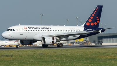 A picture of OOSSQ - Airbus A319112 - Brussels Airlines - © Gerhard Zant
