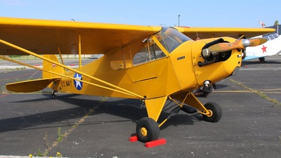 F-GVYL - Piper J-3C-65 Cub - Private