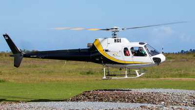 ZK-HGE - Eurocopter AS 350BA Ecureuil - Fox & Franz Heli Services