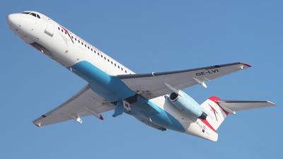 OE-LVI - Fokker 100 - Austrian Airlines (Tyrolean Airways)
