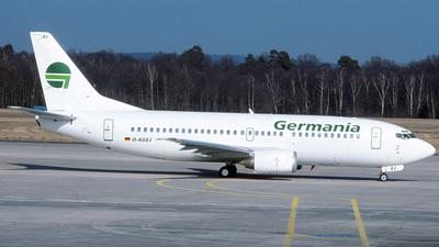 D-AGEJ - Boeing 737-3L9 - Germania