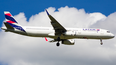 PT-MXN - Airbus A321-231 - LATAM Airlines