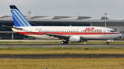 PK-YSH - Boeing 737-3L9 - J&T Express