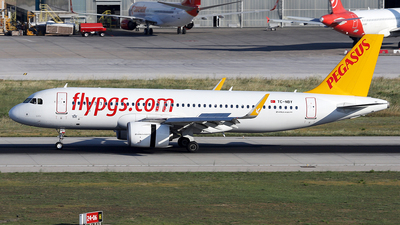 TC-NBY - Airbus A320-251N - Pegasus Airlines