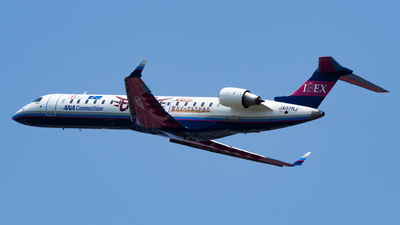 A picture of JA07RJ - Mitsubishi CRJ702ER - Ibex Airlines - © Yukio023