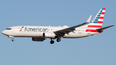 A picture of N315PE - Boeing 737823 - American Airlines - © DreamRiser
