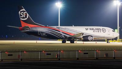 B-2017 - Boeing 737-4K5(SF) - SF Airlines