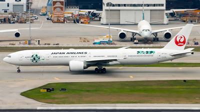 A picture of JA734J - Boeing 777346(ER) - Japan Airlines - © Jack Sin - HKPSA