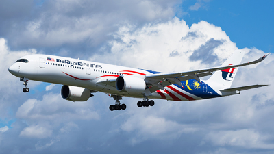9M-MAG - Airbus A350-941 - Malaysia Airlines