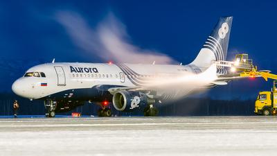A picture of VPBUN - Airbus A319111 - Aurora - © Alexander Dunaev