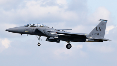 91-0308 - McDonnell Douglas F-15E Strike Eagle - United States - US Air Force (USAF)