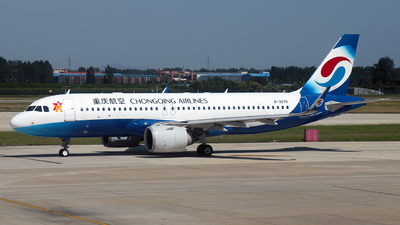 A picture of B307R - Airbus A320251N - Chongqing Airlines - © SEN BAI