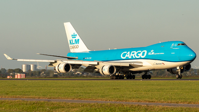 A picture of PHCKB - Boeing 747406F(ER) - KLM - © SierraRomeo