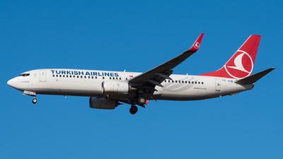 A picture of TCJVB - Boeing 7378F2 - Turkish Airlines - © Tim Kaempfer