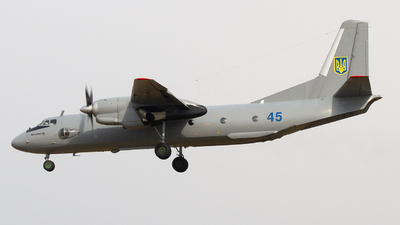 45 - Antonov An-26 - Ukraine - Air Force