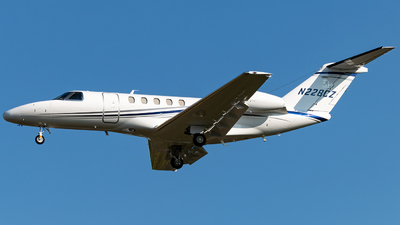 A picture of N228CZ - Cessna 525C CitationJet CJ4 - [525C0228] - © Russell Hill