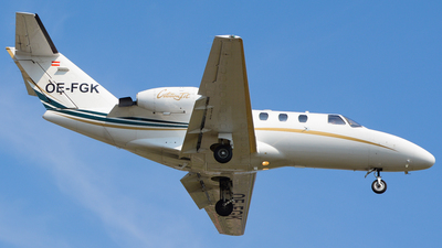 OE-FGK - Cessna 525 CitationJet 1 - SalzburgJetAviation