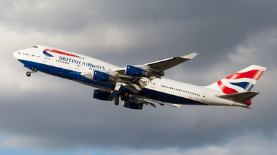 G-CIVY - Boeing 747-436 - British Airways
