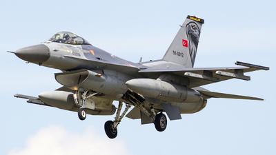 91-0012 - General Dynamics F-16C Fighting Falcon - Turkey - Air Force