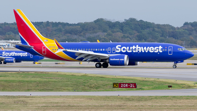 N8709Q - Boeing 737-8 MAX - Southwest Airlines