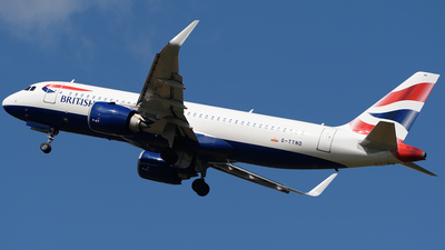 A picture of GTTND - Airbus A320251N - British Airways - © Ian McGregor