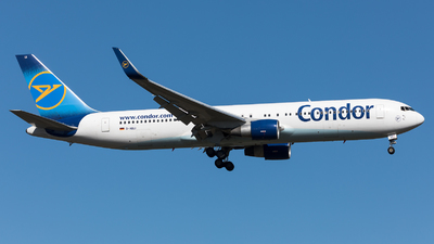 A picture of DABUI - Boeing 767330(ER) - Condor - © Sierra Aviation Photography