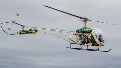 C-FKGS - Bell 47G-2 - Vancouver Island Helicopters