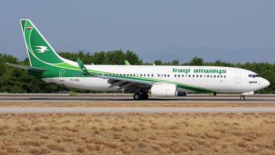 YI-ASI - Boeing 737-81Z - Iraqi Airways
