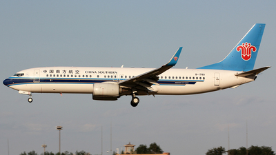 B-1780 - Boeing 737-81B - China Southern Airlines