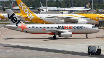 9V-JSI - Airbus A320-232 - Jetstar Asia Airways