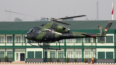 HS-7207 - Eurocopter AS 555 Fennec - Indonesia - Army