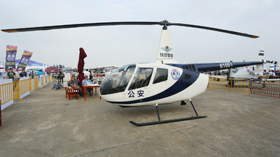 61001 - Robinson R66 Turbine - China - Police