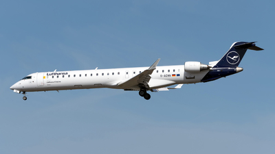 A picture of DACNV - Mitsubishi CRJ900LR - Lufthansa - © Sebastian Thiel