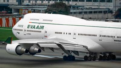 B-16461 - Boeing 747-45E(M) - Eva Air