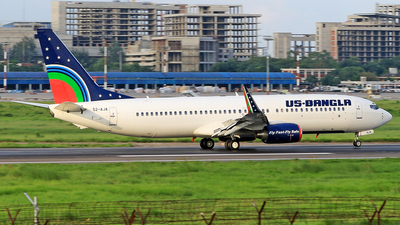 S2-AJA - Boeing 737-8Q8 - US-Bangla Airlines