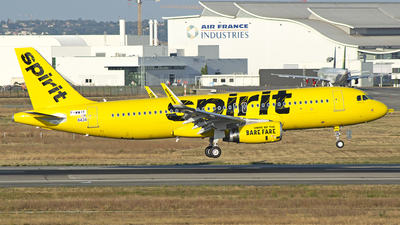 F-WWIT - Airbus A320-232 - Spirit Airlines