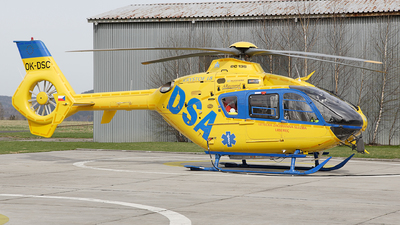A picture of OKDSC - Airbus Helicopters H135 - [0363] - © Dominik Burger
