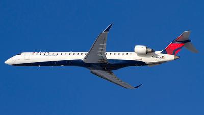 A picture of N549CA - Mitsubishi CRJ900LR - Delta Air Lines - © Jeremy D. Dando