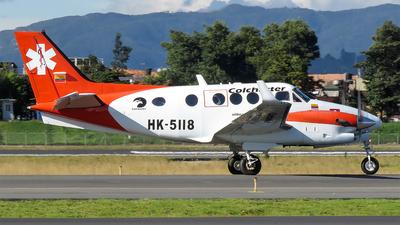 HK-5118 - Beechcraft C90GTx King Air - Colcharter